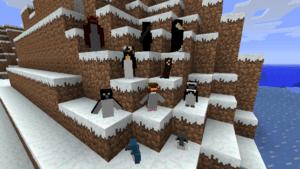 Мод Rancraft Penguins для minecraft 1.5.2/1.6.4/1.7.2/1.7.10