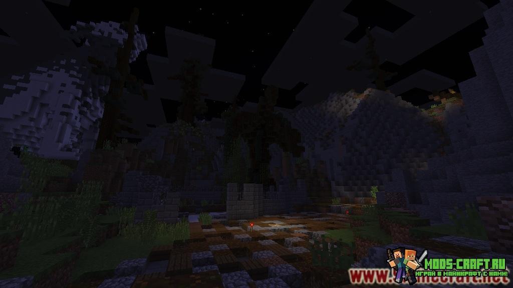 Карта на прохождение Halloween Adventure для minecraft 1.12.2/1.12
