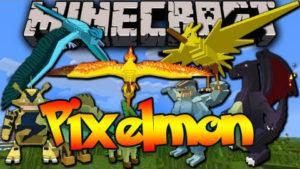 Мод на Покемоны - Pixelmon для minecraft 1.12.2/1.10.2/1.8.9/1.7.10/1.6.4/1.5.2