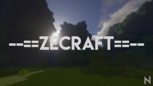 Ресурспак ZeCraft для minecraft 1.11.2/1.10.2