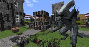 Мод Aliens vs Predator для minecraft 1.10.2 1.7.10 1.7.2 1.6.4 1.5.2