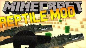 Мод на Рептилий - Reptile для minecraft 1.12.2 1.11.2 1.10.2 1.9.4 1.8 1.7.10 1.6.4 1.5.2