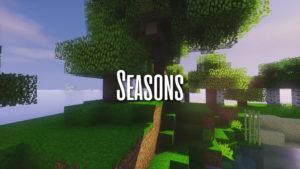 Ресурс-пак Seasons для minecraft 1.12.2 1.11.2