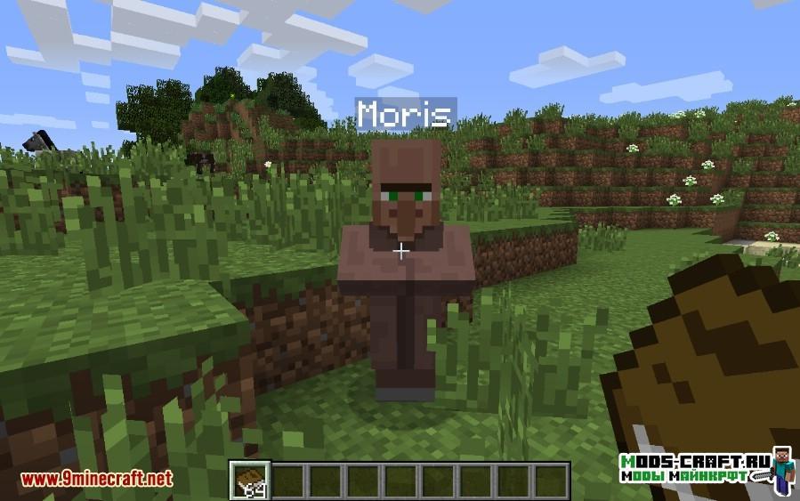 Мод Village Names для minecraft 1.12.2 1.11.2 1.10.2 1.9.4 1.8.9 1.7.10