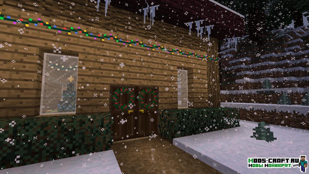 Мод Joshua's Christmas для minecraft 1.12.2 1.10.2