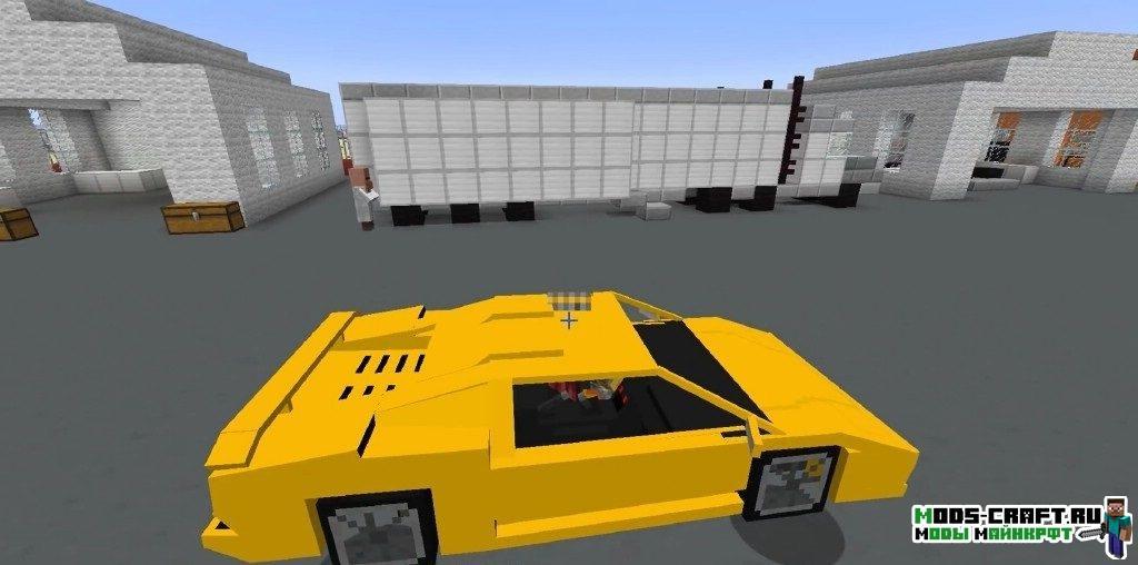 Мод на гоночные машины для minecraft 1.7.10