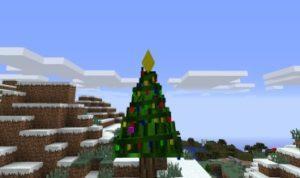 Decoratable Christmas Trees мод для minecraft 1.12.2 1.10.2 1.7.10