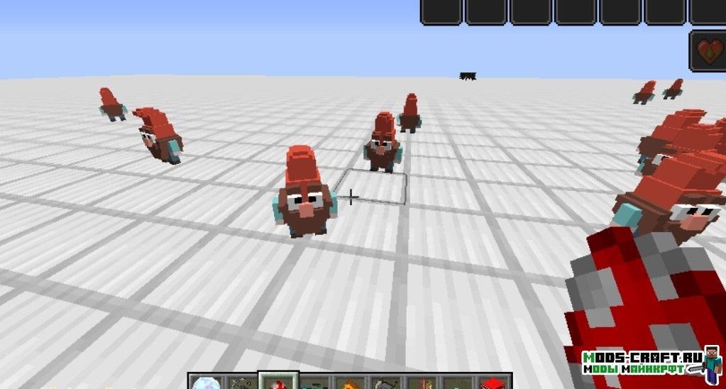 Мод Гравити Фолз - GravityFalls для minecraft 1.12.2