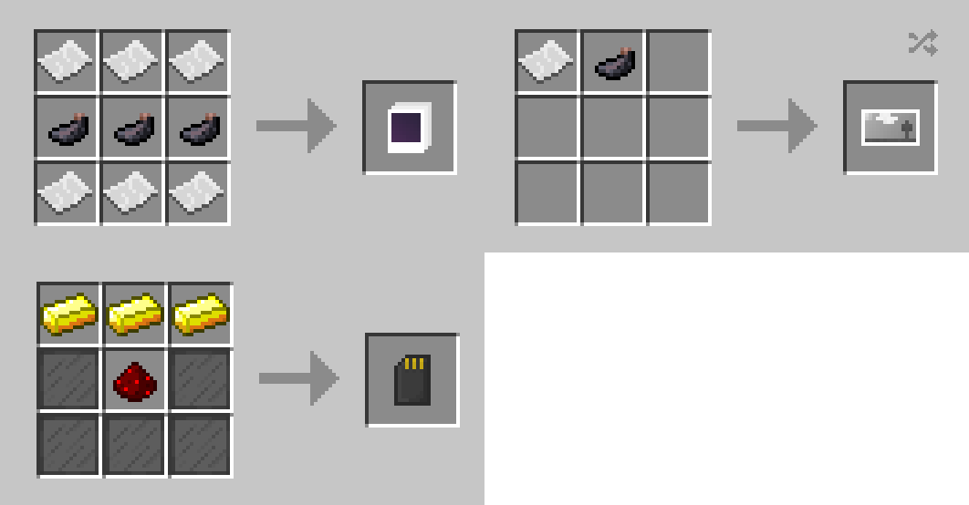 Мод на камеру - Camera Obscura для minecraft 1.12.2