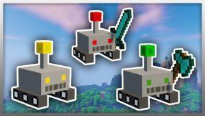 Мод на Роботов - Tiny Robot Pets для minecraft 1.12.2