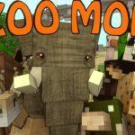 Мод на новых животных — Zoo & Wild Animals для minecraft 1.12.2 1.12 1.8