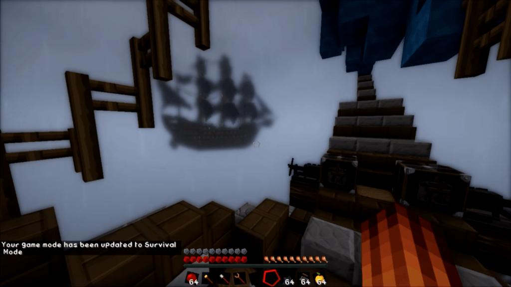 Мод на пиратские корабли - Valkyrien Warfare для minecraft 1.12.2 1.11.2 1.10.2