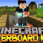 Мод на Воздушный сноуборд — Yrsegal's Hoverboard для minecraft 1.12.2