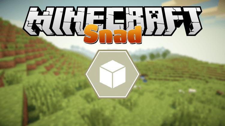 Мод Snad для minecraft 1.12.2 1.11.2 1.10.2 1.8.9 1.7.10