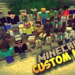 Мод на Создание персонажа Custom NPC's для minecraft 1.12.2 1.11.2 1.10.2 1.8 1.7.10 1.6.4 1.5.2