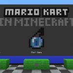 Карта Mario Kart для minecraft 1.12.2/1.11.2