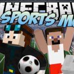 Мод на спорт - Sports mod для minecraft 1.7.10/1.5.2