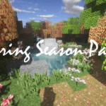 Ресурспак Spring Season для minecraft 1.12.2/1.11.2