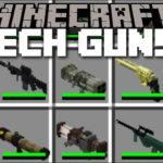 Мод на оружие - Techguns для minecraft 1.7.10