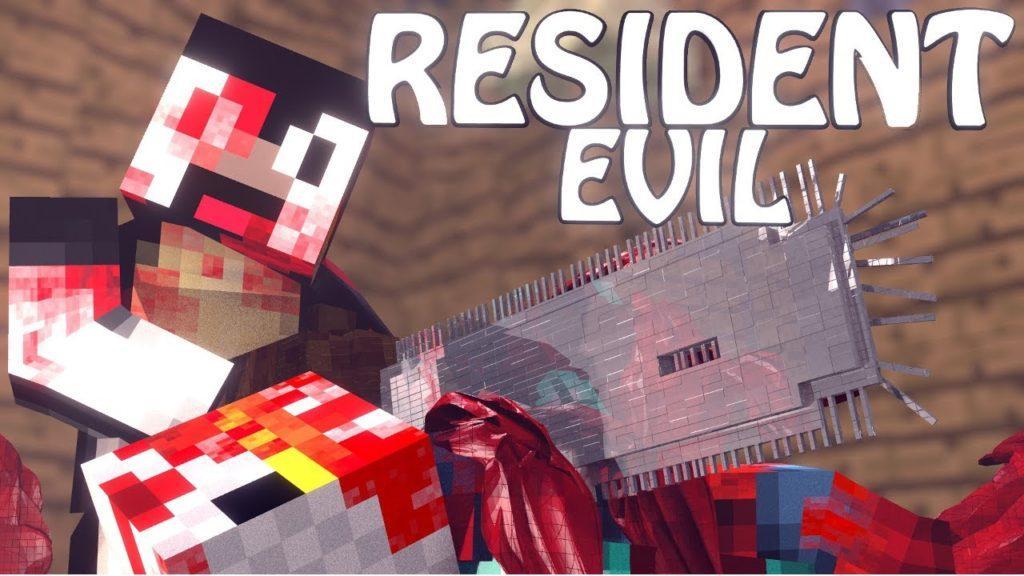 Мод The Resident Evil для minecraft 1.7.10/1.7.2/1.6.2/1.5.2