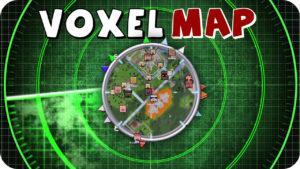 Мод VoxelMap для minecraft 1.15.2, 1.14.4, 1.12.2, 1.7.10