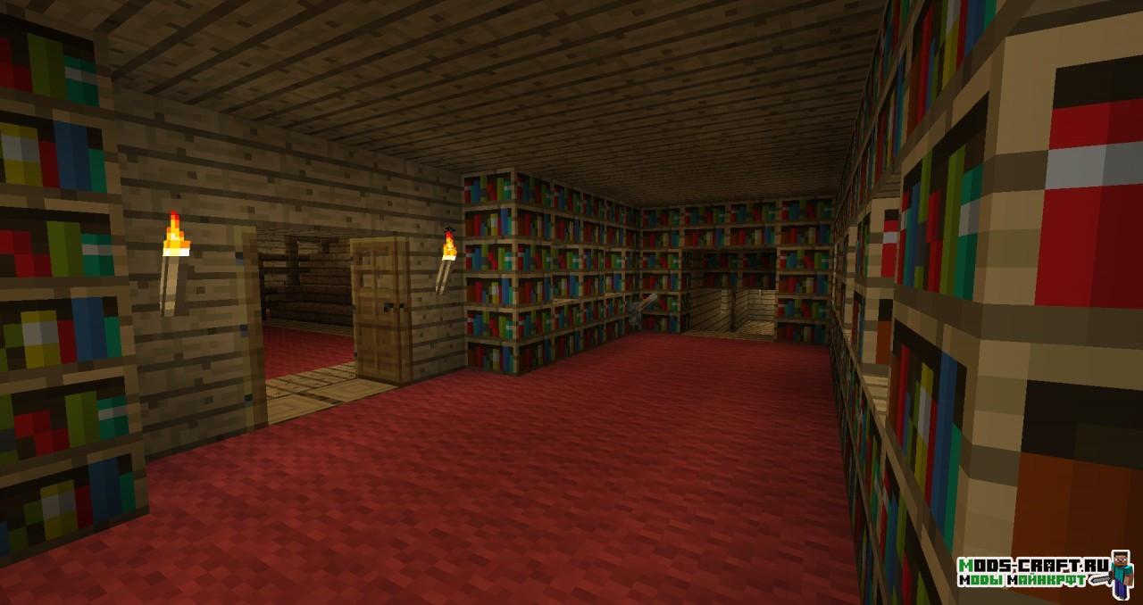 Мод Secret Rooms для minecraft 1.14.4, 1.12.2, 1.7.10