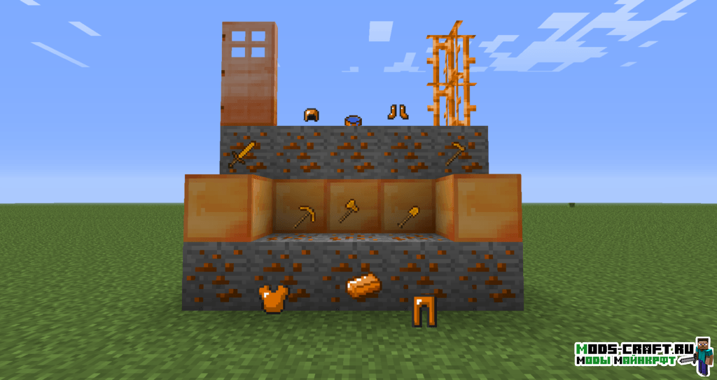 Мод на Новые руды - SimpleOres для minecraft 1.12.2 1.11.2 1.10.2 1.9.4 1.8 1.7.10