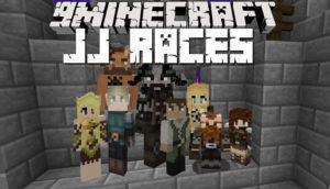 Мод на Расы - JJ Races для minecraft 1.12.2