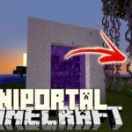 Мод на Порталы - MiniPortal для minecraft 1.12.2