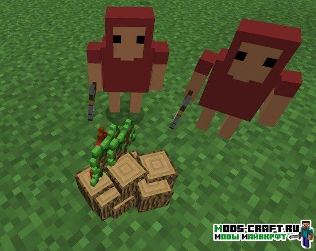 Мод на Миньёнов - Minions для minecraft 1.12.2 1.11.2 1.10.2 1.8.9 1.7.10 1.6.4 1.5.2