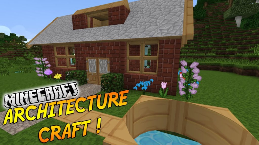 Мод ArchitectureCraft для minecraft 1.12.2, 1.10.2, 1.7.10