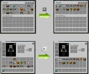 Мод Inventory Tweaks 1.14.4, 1.12.2, 1.7.10