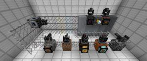 Мод на Турели - OpenModularTurrets для minecraft 1.12.2, 1.11.2, 1.7.10
