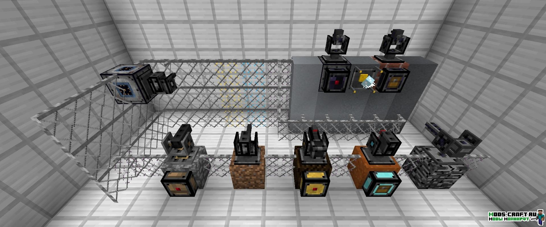 Мод на Турели - OpenModularTurrets для minecraft 1.12.2 1.11.2 1.10.2 1.7.10