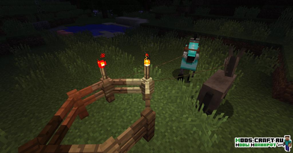 Мод Fence Overhaul для minecraft 1.12.2 1.10.2 1.9.4 1.8.9