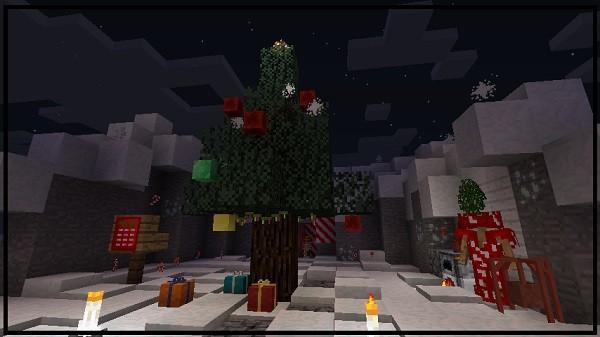 Мод на новогодние украшения - Noel для майнкрафт 1.15.2, 1.12.2