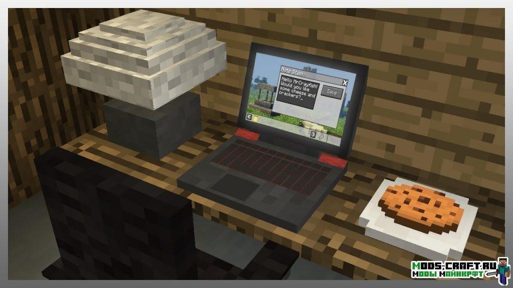 Мод MrCrayfish's Device minecraft 1.12.2 1.11.2 1.8.9