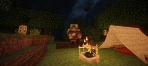Мод на лагерь - Camping для minecraft 1.10.2 1.9.4 1.8 1.7.10 1.6.4 1.5.2