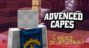 Мод на плащи - Advanced Capes для minecraft 1.12.2 1.11.2 1.10.2 1.9.4 1.8 1.7.10
