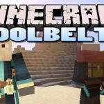 Ремень для инструментов - Tool Belt мод для minecraft 1.14.4, 1.12.2, 1.10.2