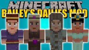 Мод на Задания - Bailey's Dailies для minecraft 1.12.2 1.11.2 1.10.2 1.9.4