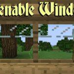 Мод Openable Windows для minecraft 1.12.2