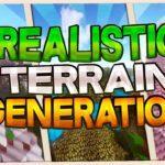 Мод Realistic Terrain Generation для minecraft 1.12.2, 1.10.2, 1.7.10