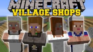 Мод на магазин - Villager Market для minecraft 1.12.2 1.11.2 1.10.2