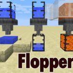 Мод на блоки с жидкостями   Flopper для minecraft 1.12.2
