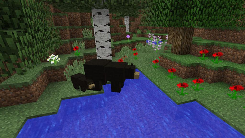 Мод на Медведей - Bear With Me для minecraft 1.12.2 1.11.2 1.10.2