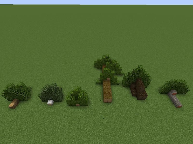 Мод Chop Down Updated для minecraft 1.12.2 1.12 1.11.2 1.11 1.10.2 1.9.4