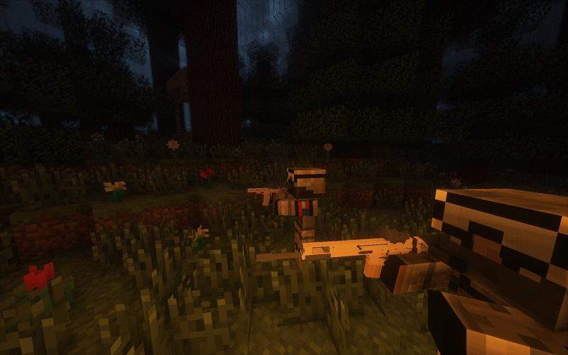 Мод на Новое оружие для minecraft 1.7.10
