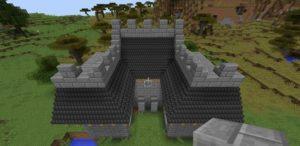 Мод на декорации для крыш - Not Enough Roofs для minecraft 1.12.2