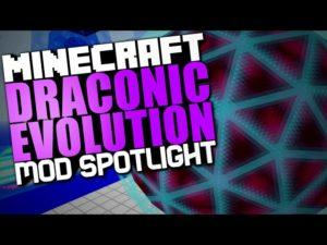 Мод Draconic Evolution для minecraft 1.12.2 1.11.2 1.10.2 1.7.10